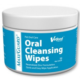 MAXI/GUARD Oral Cleansing wipes 100 szt