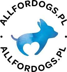 All For Dogs Smycz Multifunkcyjna Czarna 5m / 2 cm