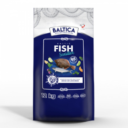 BALTICA Baltic Fish Sensitive 12 kg Średnie Duże Rasy