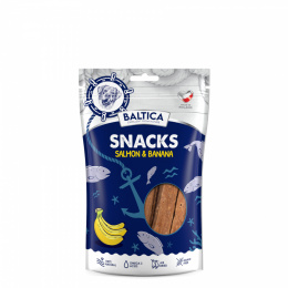 BALTICA Snacks Łosoś Z Bananami 100g