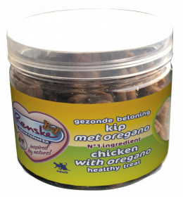 Renske Cat Healthy Mini Treat Chicken with oregano przysmak dla kotów kurczak z oregano 100g