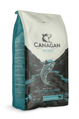 Canagan Scottish Salmon Dog Adult 6kg - łosoś
