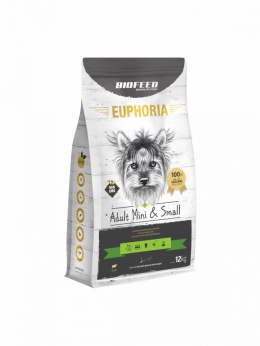 BIOFEED EUPHORIA Adult Dog Mini & Small Jagnięcina 12kg