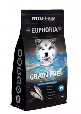 BioFeed EUPHORIA Dog Grain Free 10kg Fish